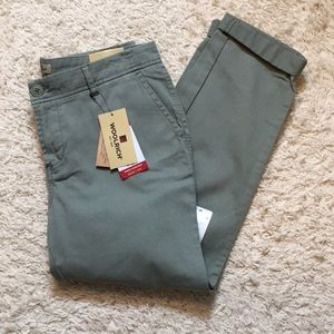 Woolrich Olive Green Sunday Chino NWT 6